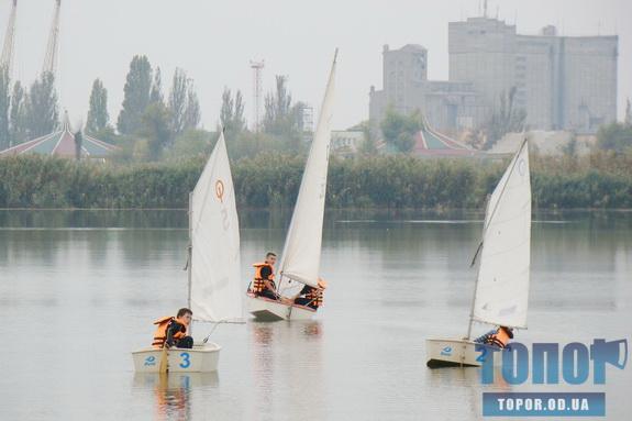 Ренийские яхтсмены вдохновляют измаильчан на развитие парусного спорта