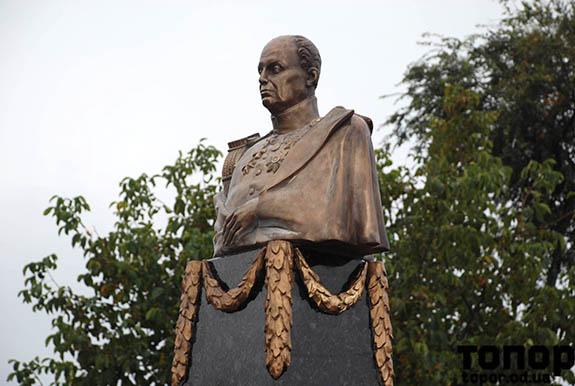 О том как в Болграде памятник генералу Ивану Инзову открывали (видео)