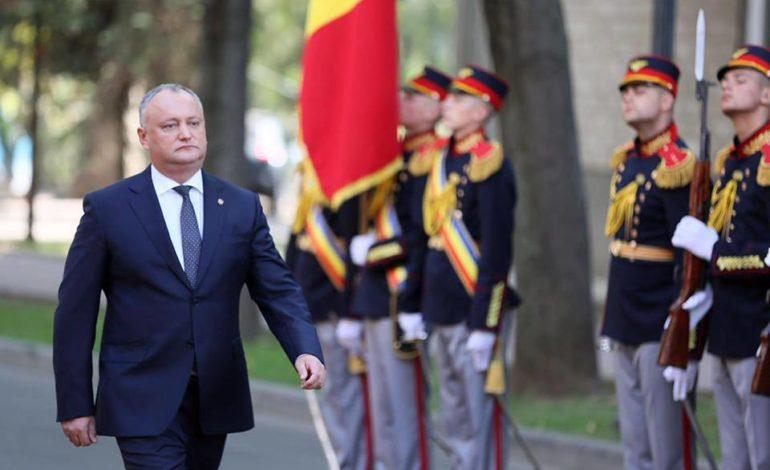 В Молдове президента Додона могут временно отстранить от должности