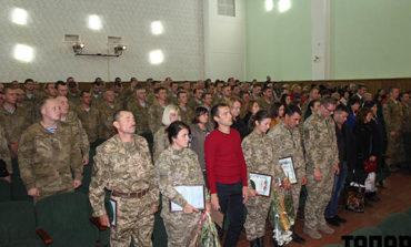 В Болграде чествовали защитников Украины
