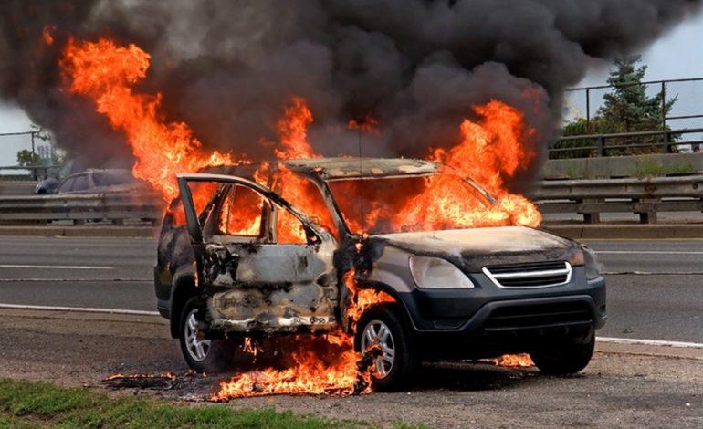 На трассе Одесса-Рени ночью горел «Jeep»