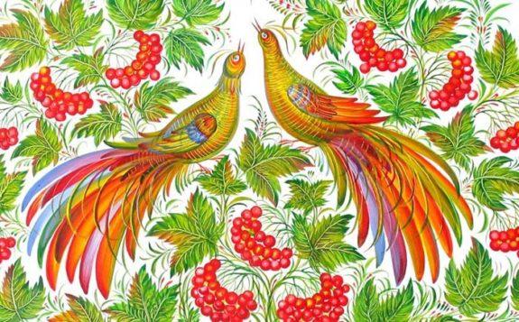 В Болгарии открылась выставка живописных панно «Петриковская роспись»