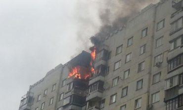 В Одессе при пожаре в 16-этажном доме пострадала женщина