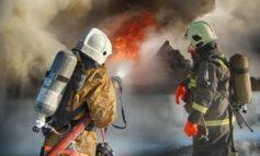 В Ширяево ночью тушили крупный пожар
