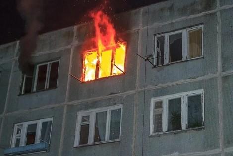 В Одессе на Пироговской горела многоэтажка