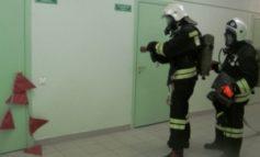 В Белгороде-Днестровском горел противотуберкулезный диспансер