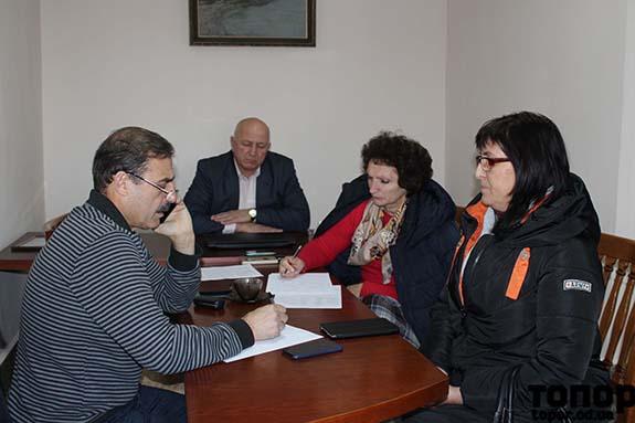 Антон Киссе провел прием граждан в Болградском районе