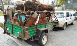 В Болграде задержали охотника за металлоломом