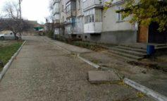 В Белгороде-Днестровском обновляются придомовые территории