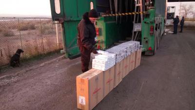 Украинец пытался покинуть страну на грузовике с контрабандой