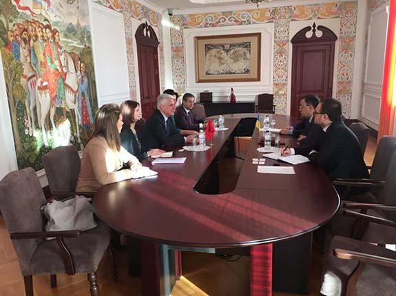 В Каракурте побывали гости из Албании