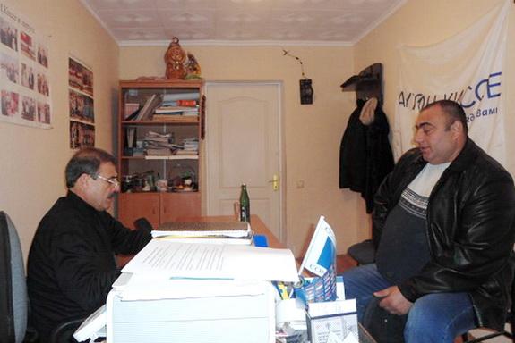 Антон Киссе провел депутатский прием в Саратском районе