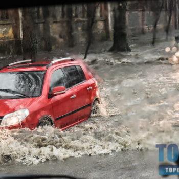 Несколько кадров Одессы в воде (фоторепортаж)
