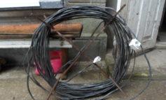 Измаильчанин попался на краже электрокабеля