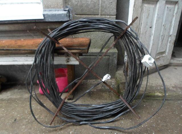 В Одесской области поймали воришку электрокабелей (фото)