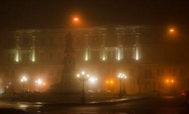 Утренняя Одесса во власти тумана (фоторепортаж)
