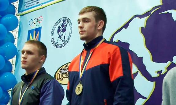 Как тарутинский борец Василий Михайлов стал семикратным чемпионом Украины (видео)
