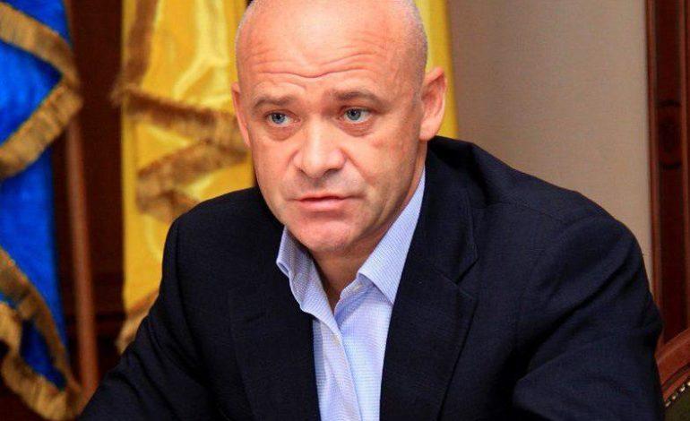 Мэр Одессы вернулся в Украину