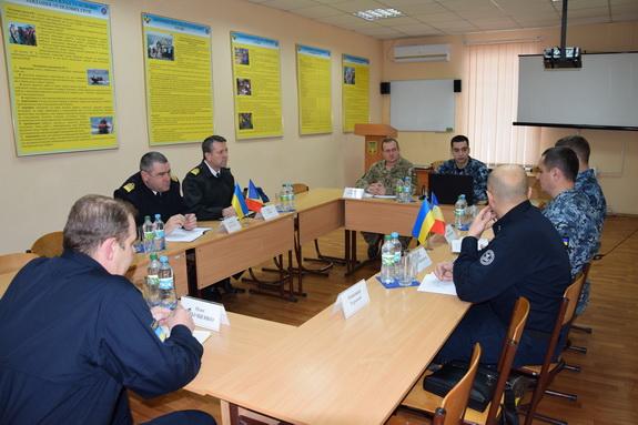 В Измаиле готовятся к совместным украинско-румынским учениям на Дунае