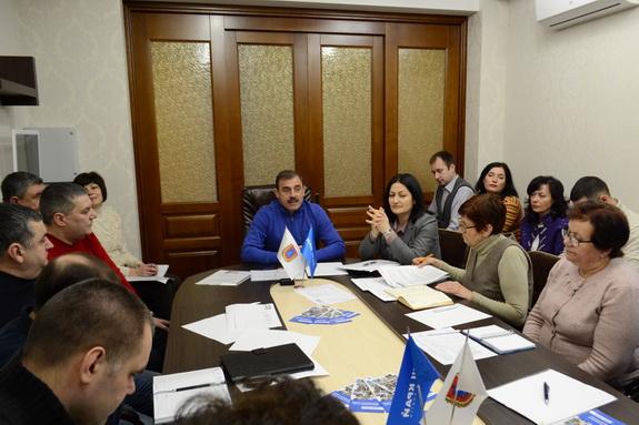 В Одессе состоялось совещание руководителей районных организаций партии «Наш край»