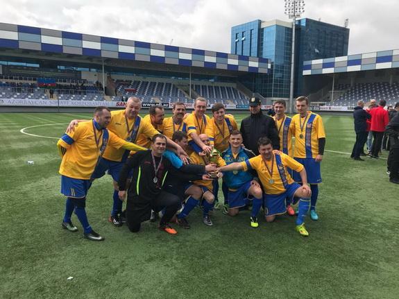Антон Киссе принял участие в международном футбольном турнире парламентских команд