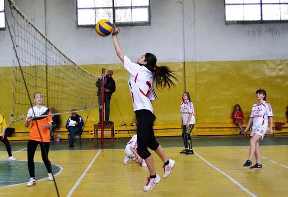 В Болграде определили лучших волейболисток