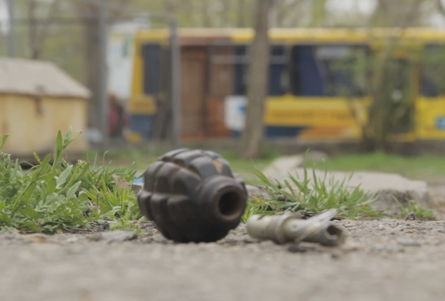 В Одессе учебная граната испугала прохожих
