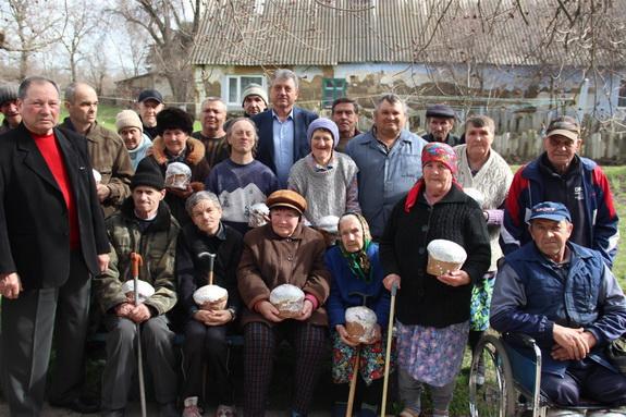 В Мирнопольском Доме-интернате отпраздновали Пасху