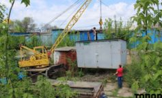 В Болграде начали демонтаж МАФов