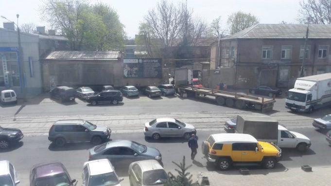 В Одессе из-за ДТП приостановил работу 21 трамвай