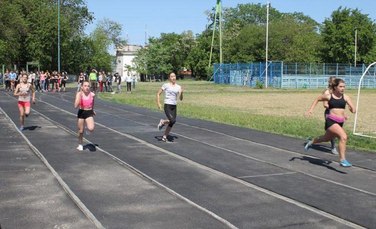 Аккерманские учащиеся соревновались по лёгкой атлетике