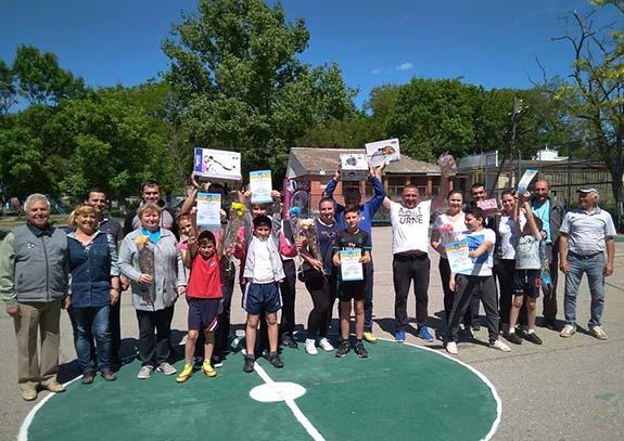 В Болградском районе прошел семейный спортивный праздник