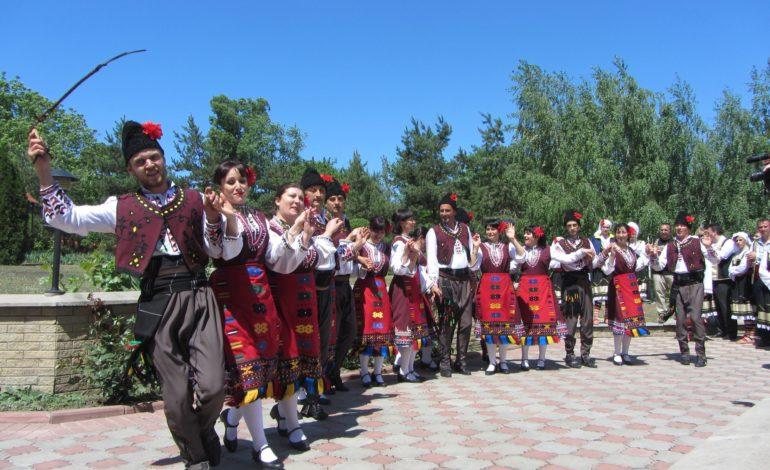 Коллективы из Криничного приняли участие в открытии консульства Болгарии