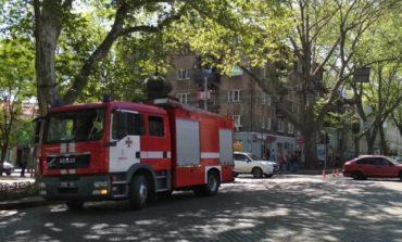 В Одессе на Комитетской тушили пожар в школе