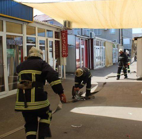 На аккерманском рынке боролись с… террористами