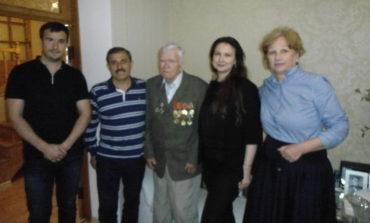 Антон Киссе поздравил ветерана войны из Сараты