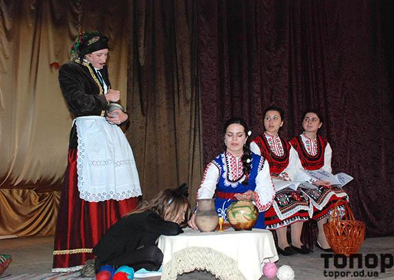 Театральная премьера в Болграде (фоторепортаж)