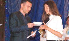 Одаренную молодежь Болградского района наградили денежными премиями