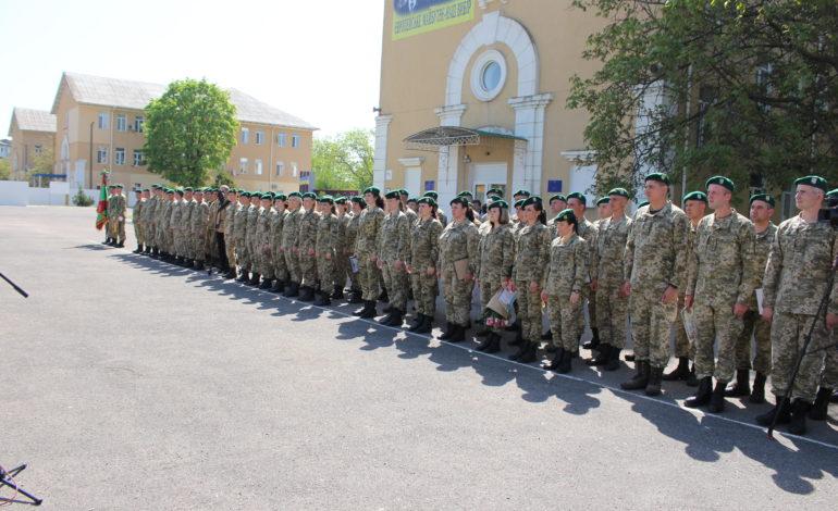 Пограничники Белгород-Днестровского отряда празднуют День создания воинской части