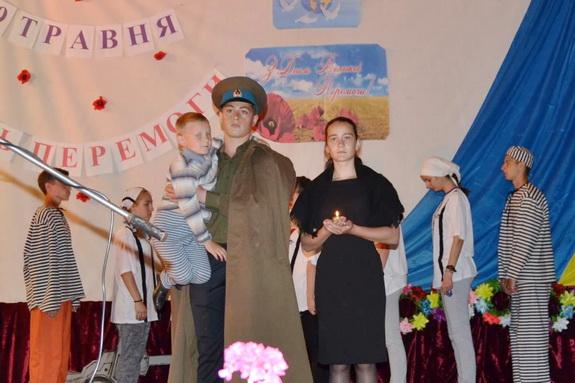 В селе Петросталь Тарутинского района отпраздновали День победы