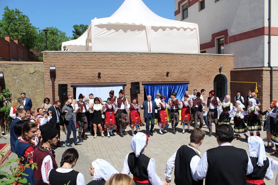 В Запорожье открыли Почетное консульство Болгарии