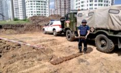 На одесской стройке нашли 18 артиллерийских снарядов