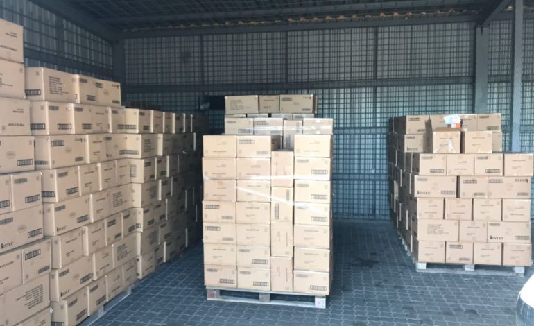 В порту Одессы нашли незадекларированные товары на 7 млн