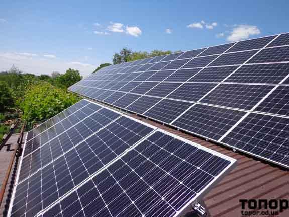 Ренийский район: возле села Плавни установят солнечные батареи