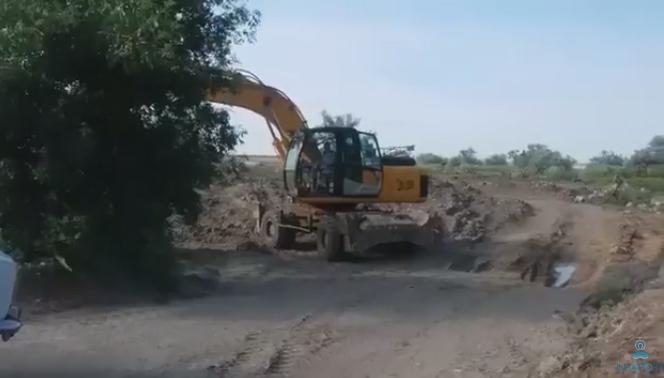 В Одесской области уничтожают заповедную зону