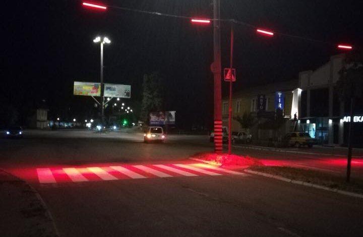 Светящиеся пешеходные переходы устанавливают в Белгороде-Днестровском