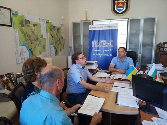 В Болграде побывали представители Одесского офиса Ассоциации городов Украины