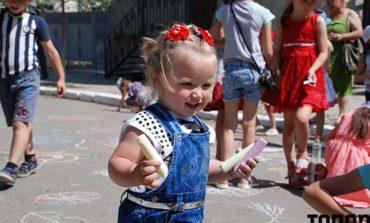 Как детей в Болграде защищали (фото)