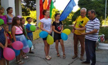 Дети из Луганской области проходят арт-реабилитацию на курорте Белгород-Днестровского района