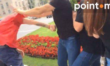 Драка у посольства России: в Кишиневе унионисты разбили мужчине голову